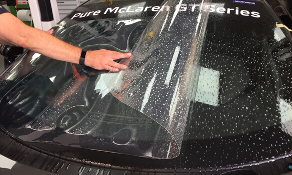 Racing Optics Windscreen Tear Off